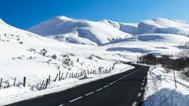 Route des neiges