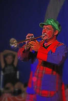 Le clown musicien