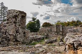 vestiges du château de Montagu