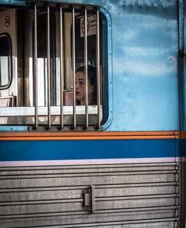 Train prison