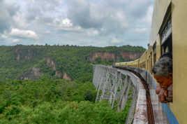 Viaduc de Gokteik, Myanmar
