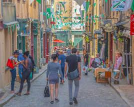 La vie dans un quartier de Limoges