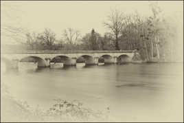Pont en hiver