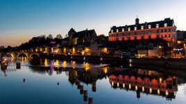 Reflets sur la Mayenne