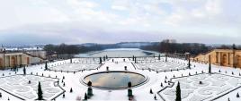 Versailles sous la neige