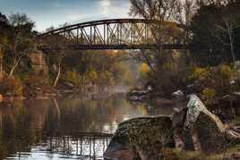 Le Pont de la rivière Aille