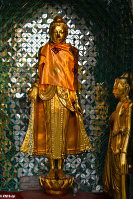 Bouddha de la pagode Shwedagon