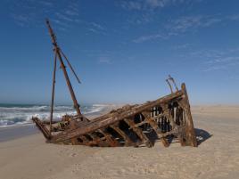 navire échoué à Dakhla