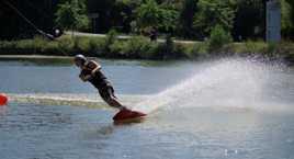 glisse sur l eau