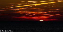 Lever de soleil en bord de mer
