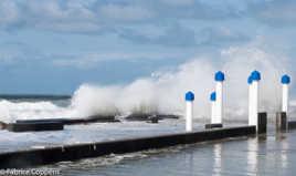La grande marée de Wimereux