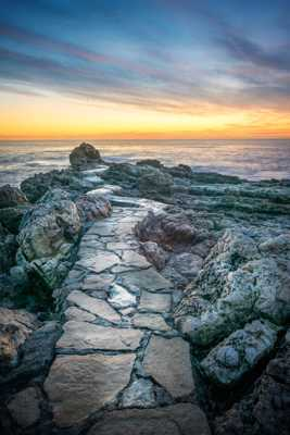 Le sentier de la mer