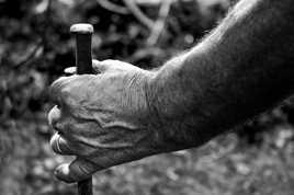 main de travailleur