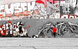 L'art urbain est éphémère