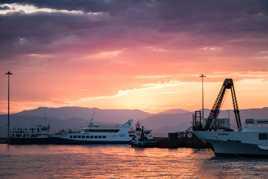L'aube a Corfu