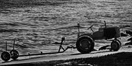 Tracteur à Arromanche