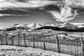Nuages sur les Monts Dore
