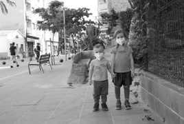 Les enfants masqués