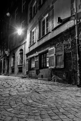 St Malo un soir d'hiver