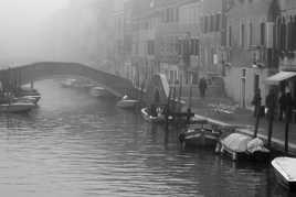 Venise dans le brouillard