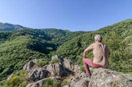 Vue sur le massif du Tanargue