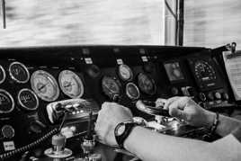 Piloter un train du bout des doigts