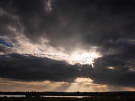 Ciel du Marais d'Olonne