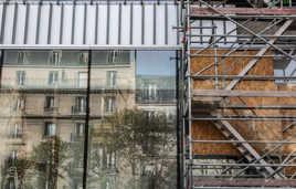 Chantier rénovation façade