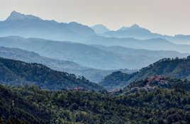 Petit village d'Italie près des Cinq Terres