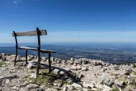 le banc du Mont Ventoux