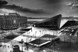 la gare de Rotterdam