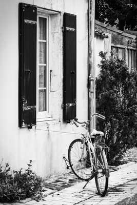 Bicyclette bien liée