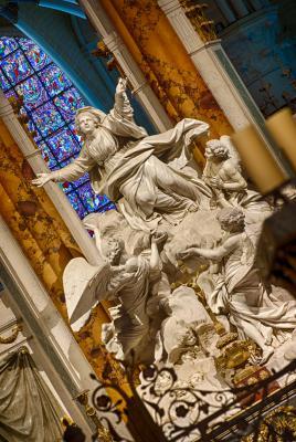 l'Assomption au chœur de la cathédrale de chartres
