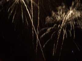 Feu d'artifice 13 juillet 2014 à Reims