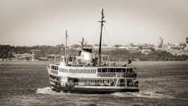 Floating on the Bosphorus