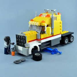 Patron!...J'ai des soucis avec le camion!