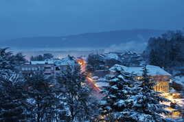 Petit matin neigeux