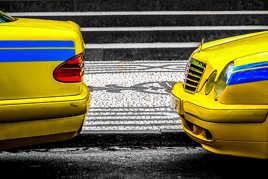 Taxi jaune