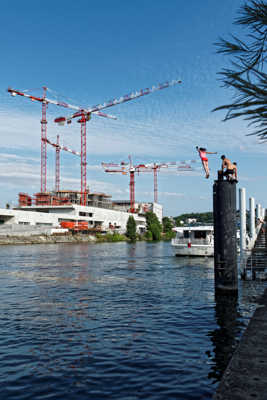 Paris 2024 Olympic Aquatic Center