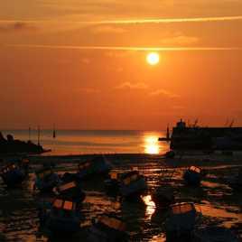 réflexion....du soleil levant