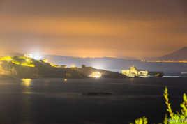Biarritz et son fameux rocher de la vierge... by night