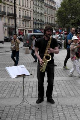 Sympa la musique de rue