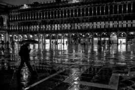 pluie à Venise