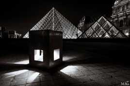 Duo de pyramides