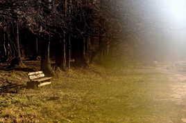 A m'assoir sur un banc et regarder la vie tant qu'y en a..Rayon de lumière,