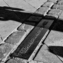 le Mur de Berlin hanté