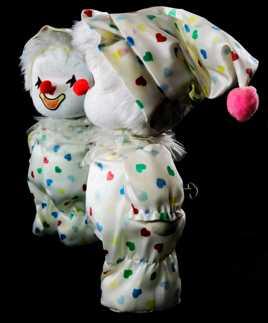 le clown que j'ai eu à 6 mois
