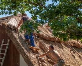 Réfection de toiture à Kerhinet