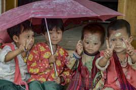 Un parapluie pour quatre