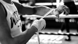 fighter's hands